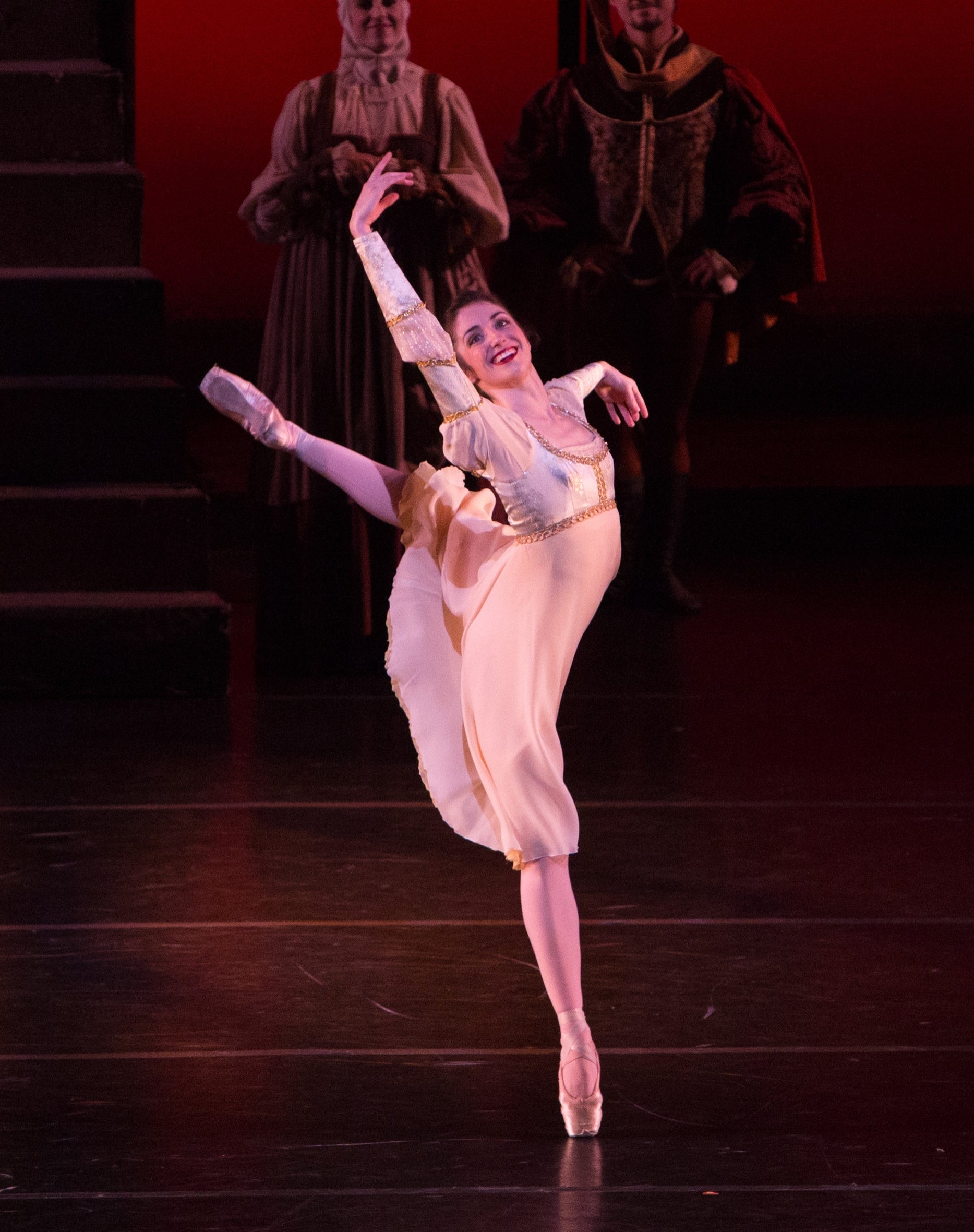 Nevada Ballet Theatre's Romeo and Juliet Choreographed by James Canfield. Photo by Virginia Trudeau.
