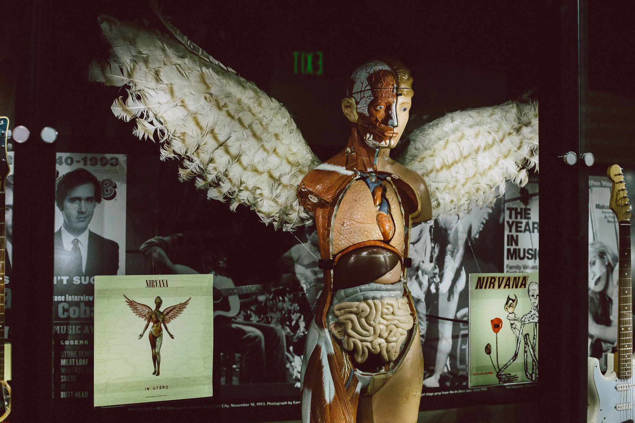 Nirvana In Utero sculpture