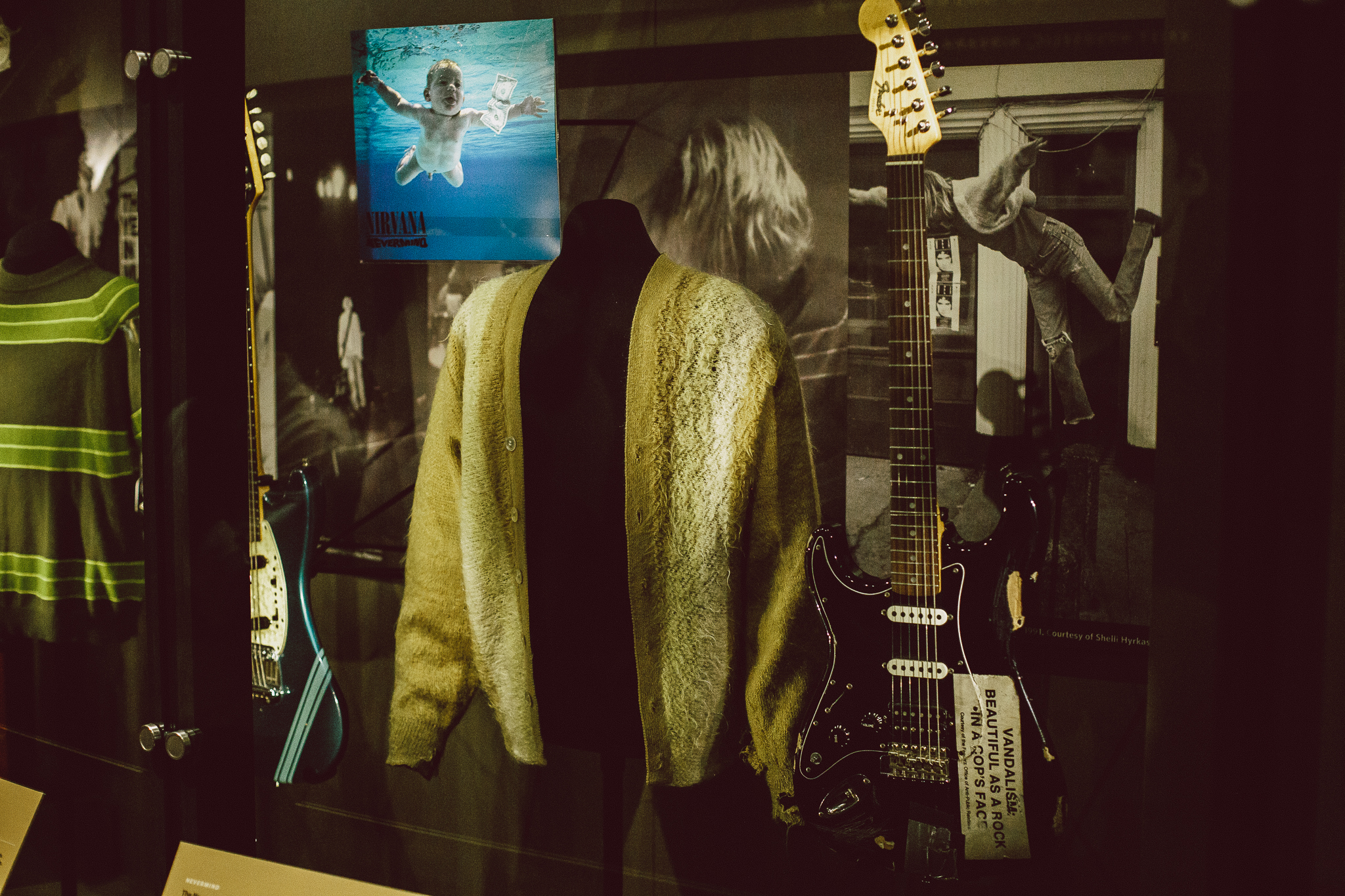 Seattle Nirvana Kurt Cobain cardigan