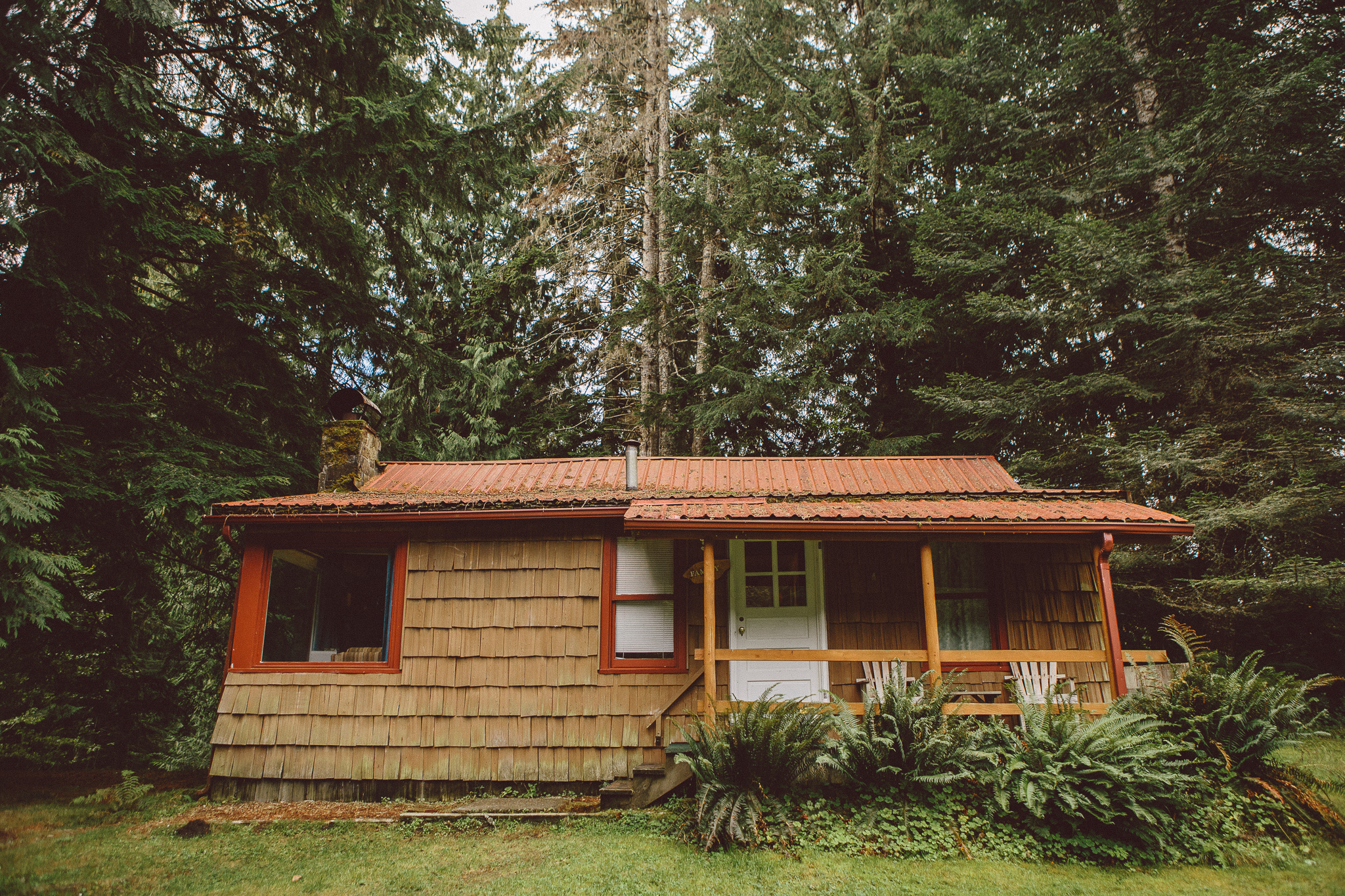 Mt Rainier cabin
