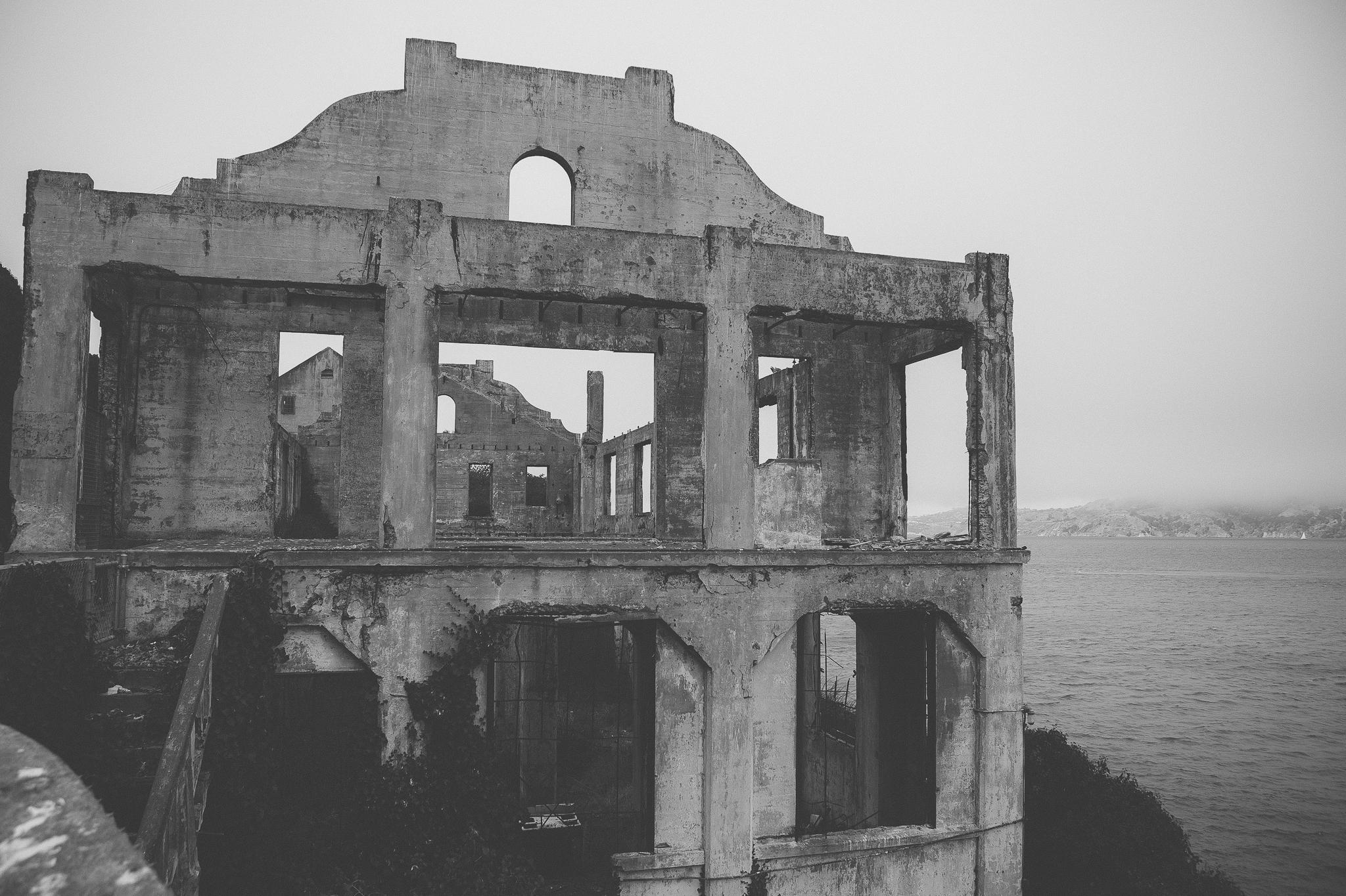 Alcatraz Prison photography