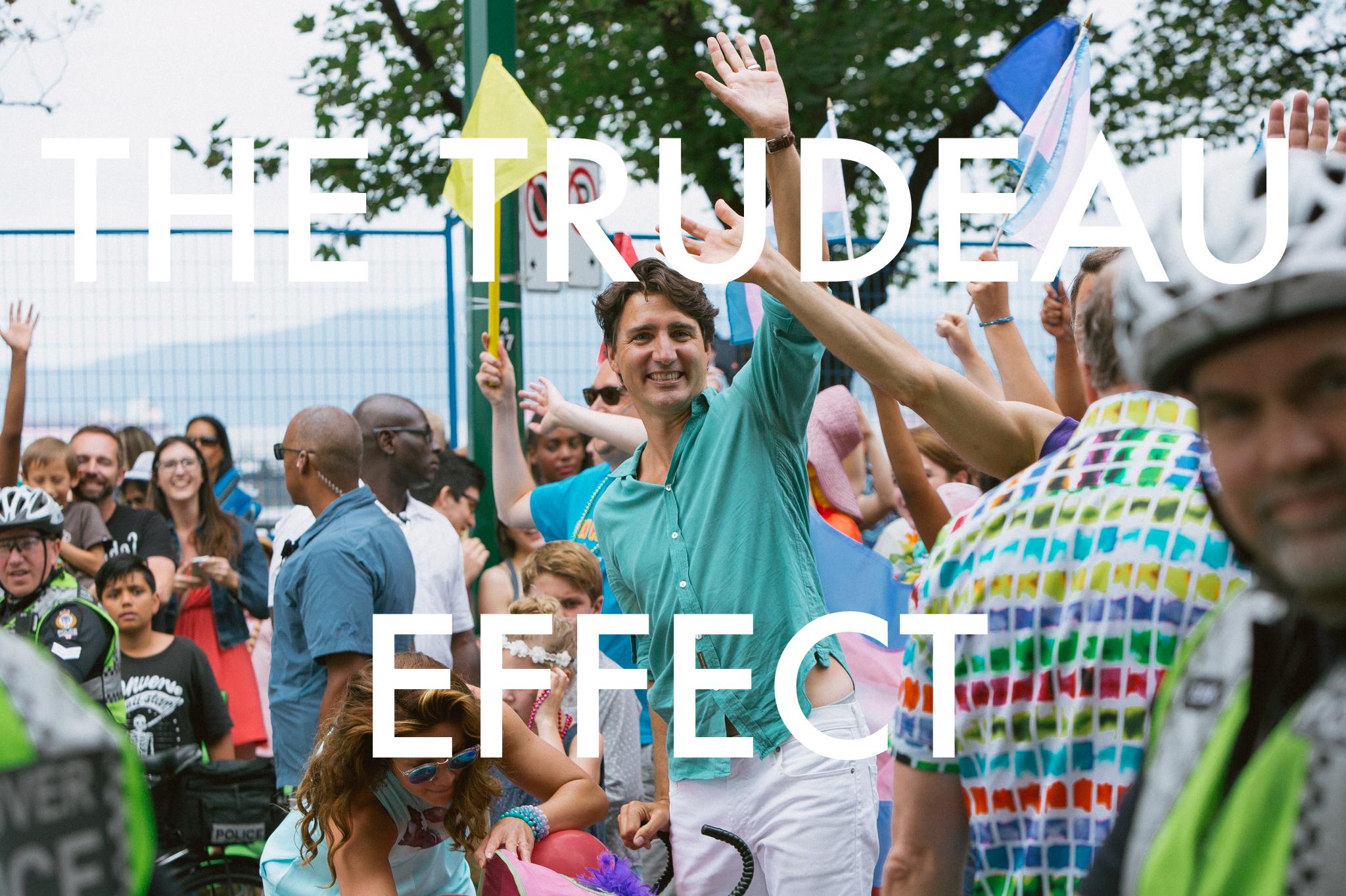 Prime MinisterJustin Trudeau Vancouver Pride 2016