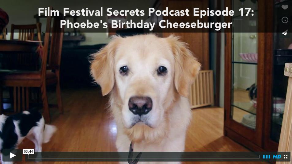 Phoebe's Birthday Cheeseburger