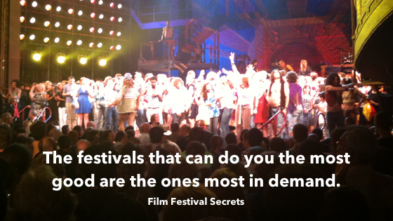 the festivals that can do you the most good are also the ones most in demand