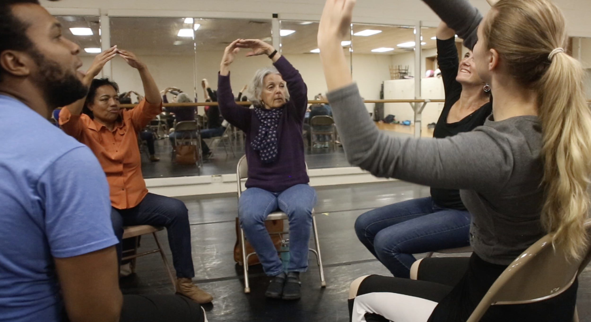 Physical Empathy with Metro's Dancing with Parkinson's class