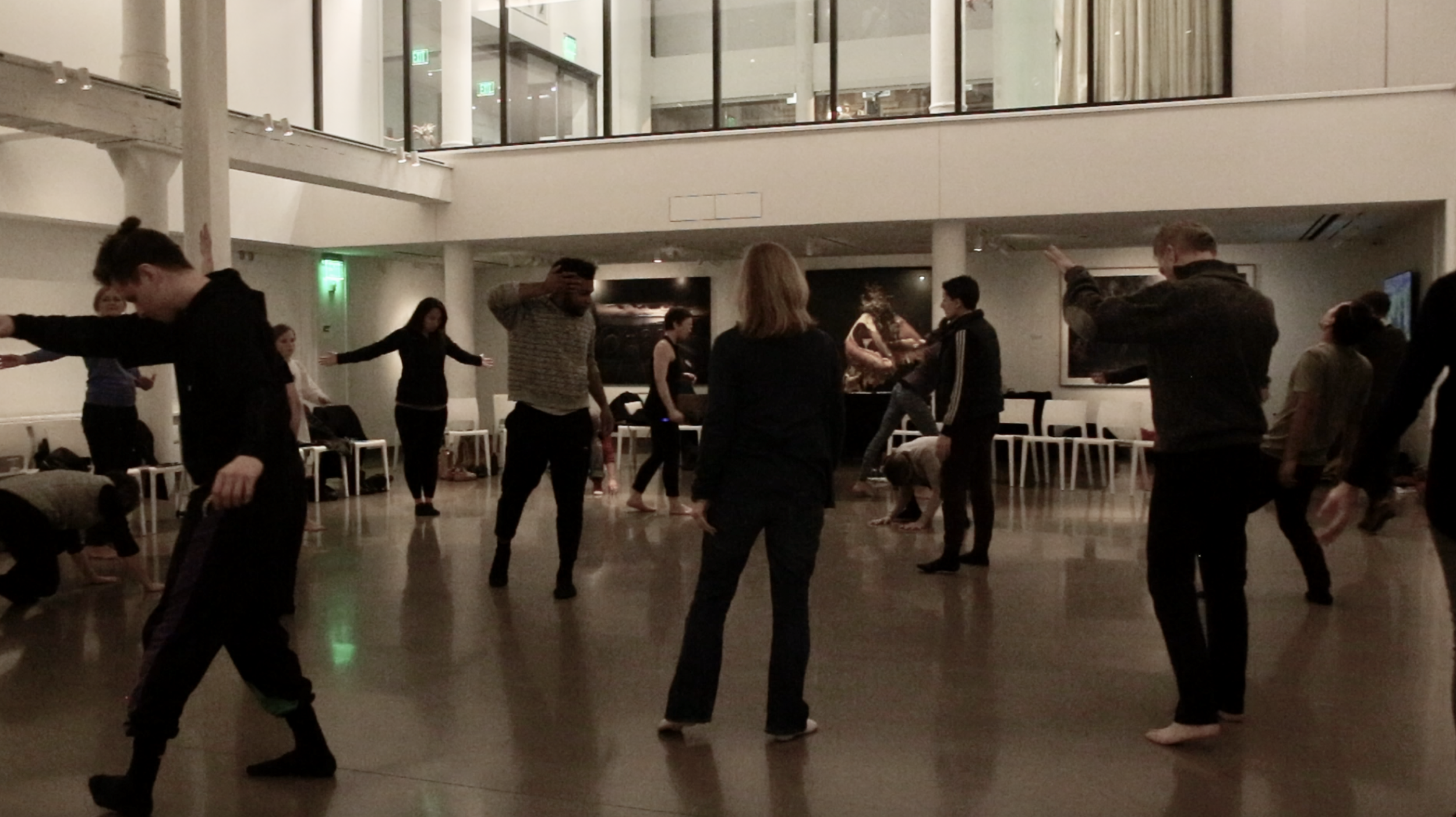Physical Empathy public workshop at 21c Museum and Hotel