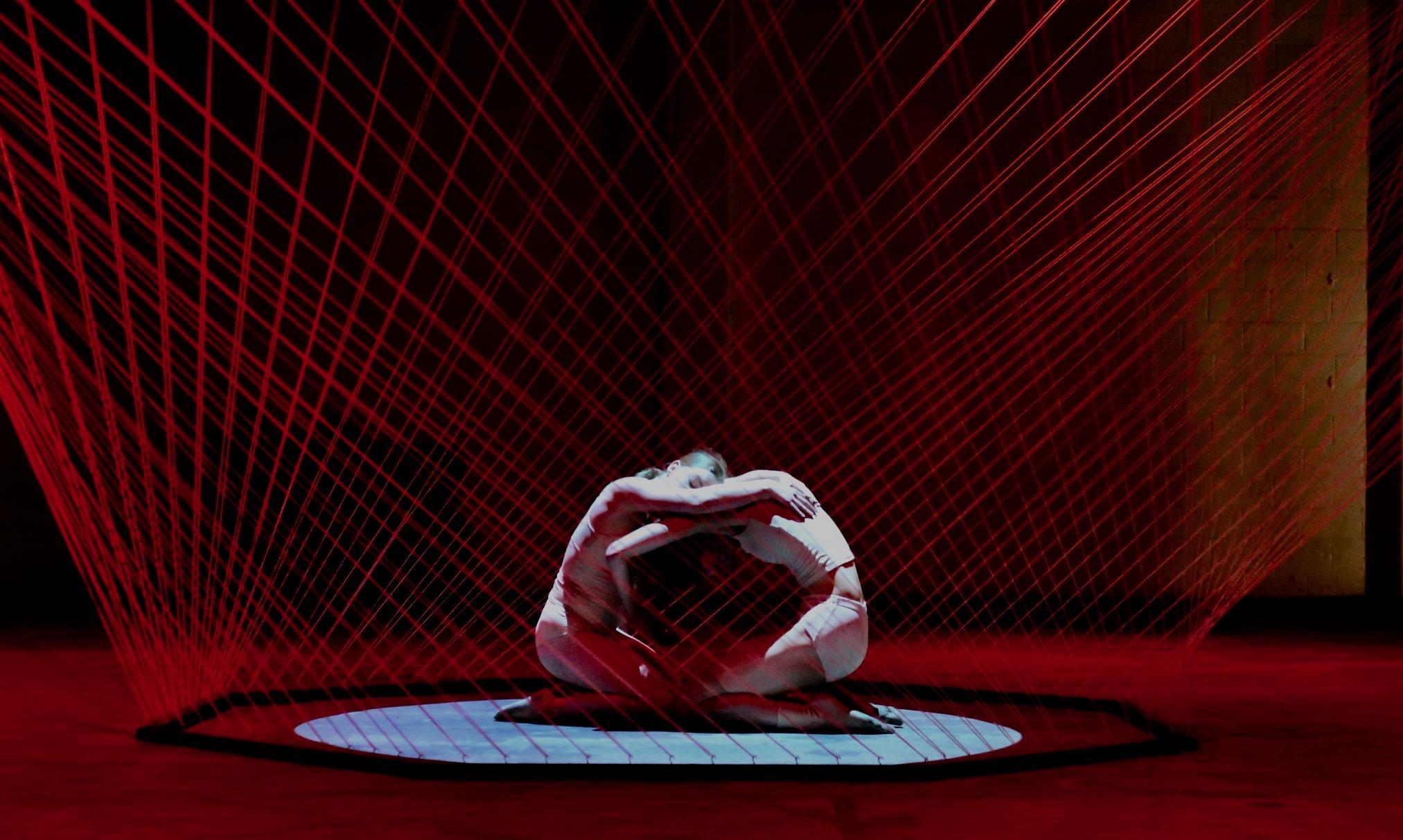 DAVID FLORES' string sculpture