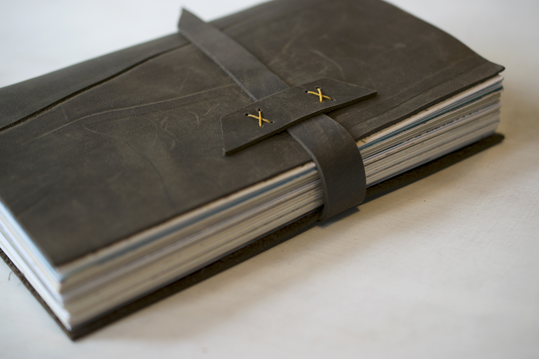 Quill and Arrow : Leather Longstitch Journal