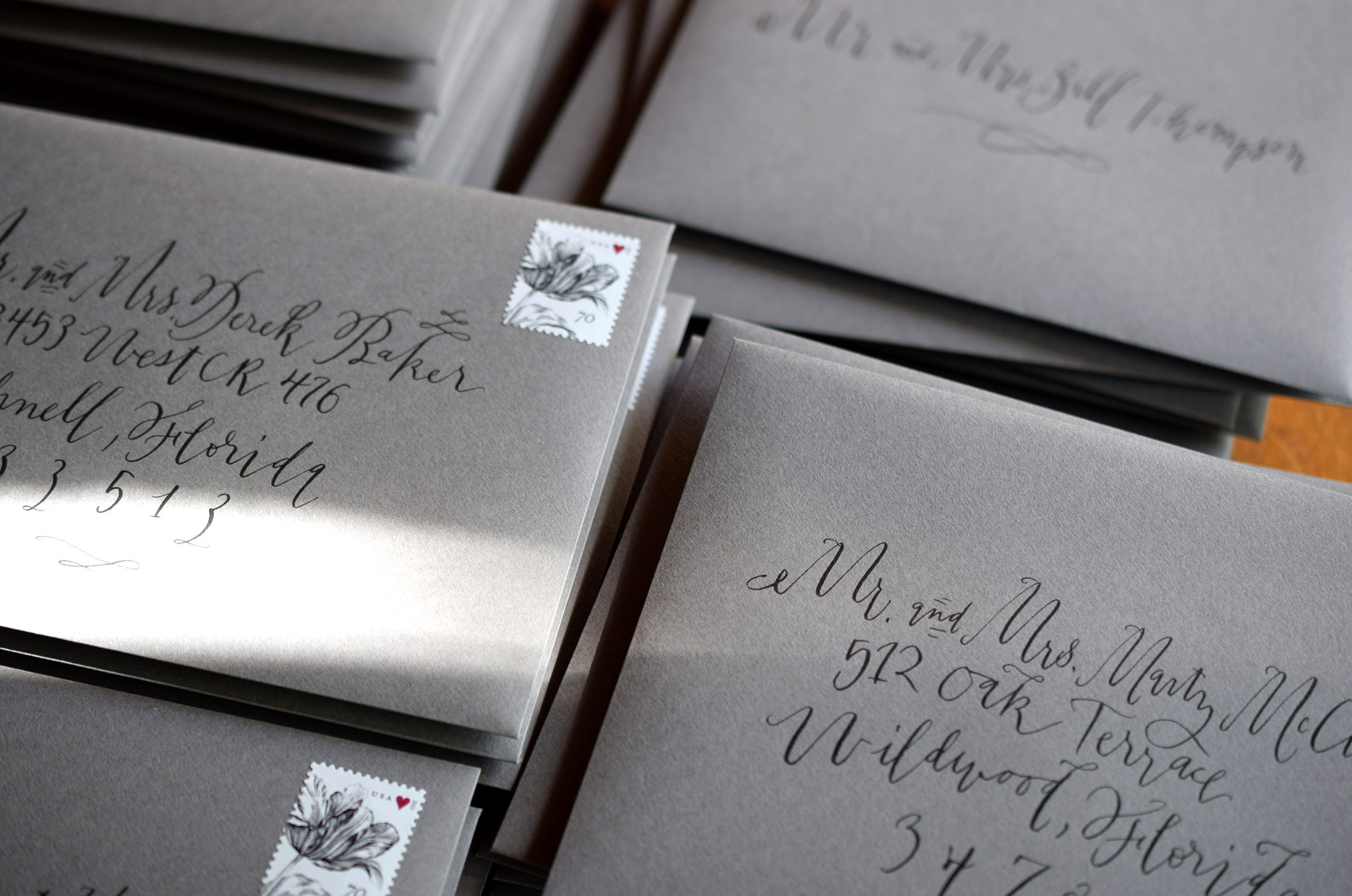 quill and arrow calligraphy