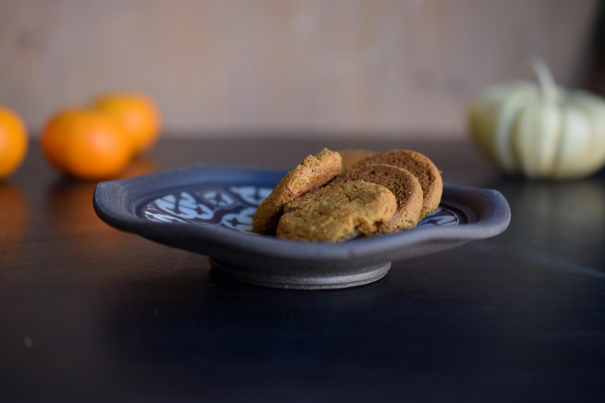 Small Ceramic plate shot for  FLM Ceramics
