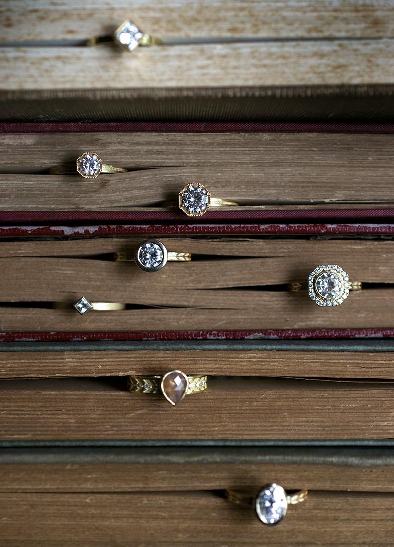 Rings by  Marilyn Brogan