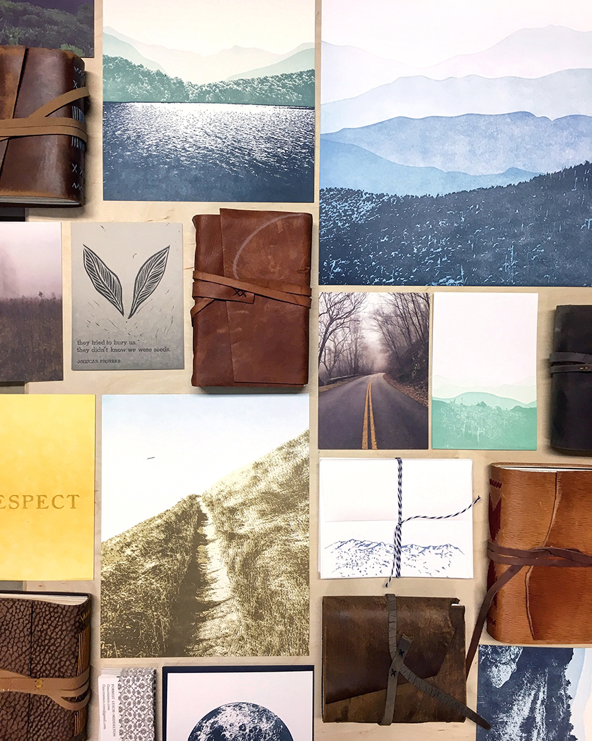 Wholesale Paper goods, prints, stationery.