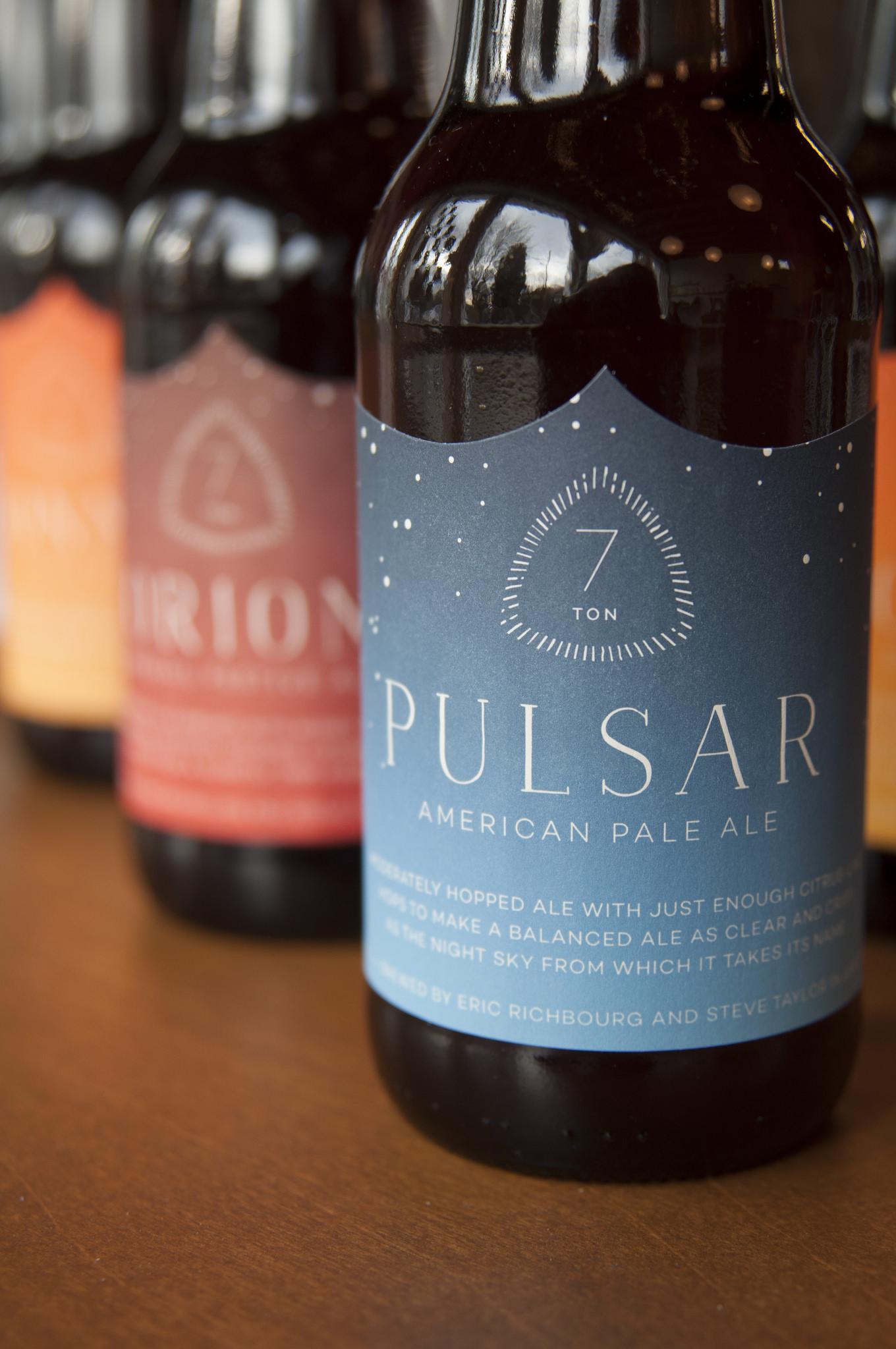 Custom beer labels. Designed, printed, and die-cut.