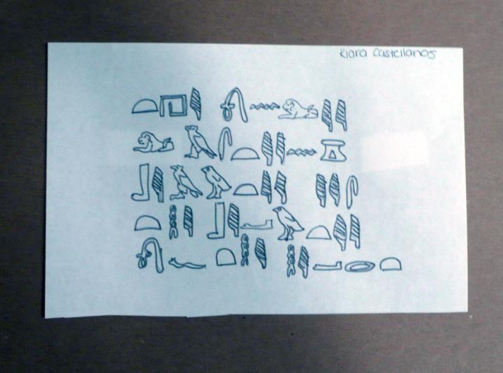 Hierglyphics by Kiara