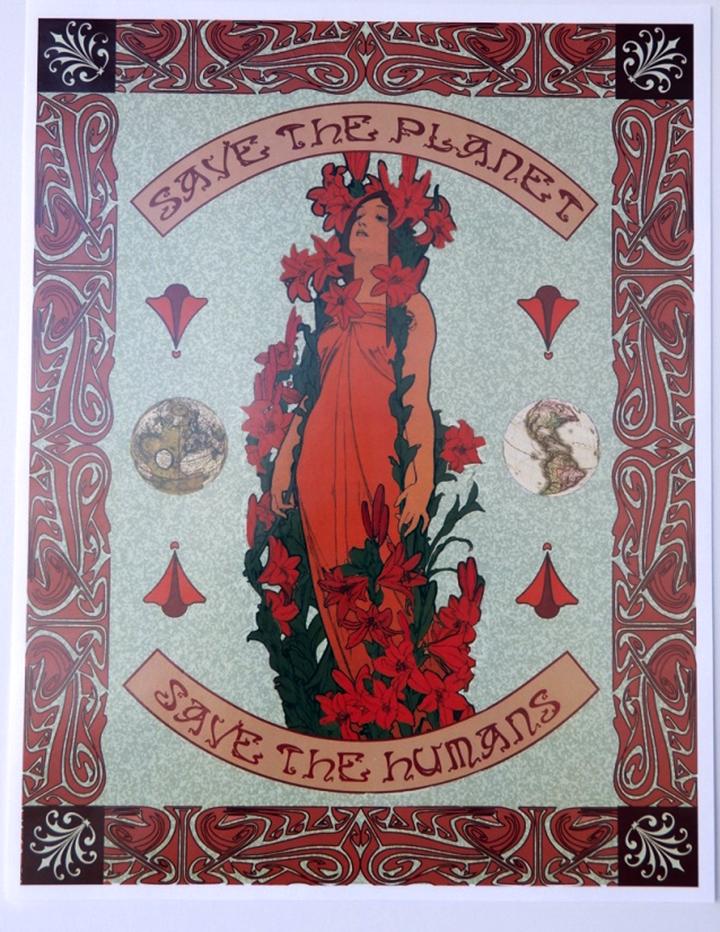 Arts & Crafts/Art Nouveau design challenge