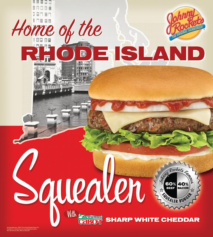 Johnny Rockets Regional Burger