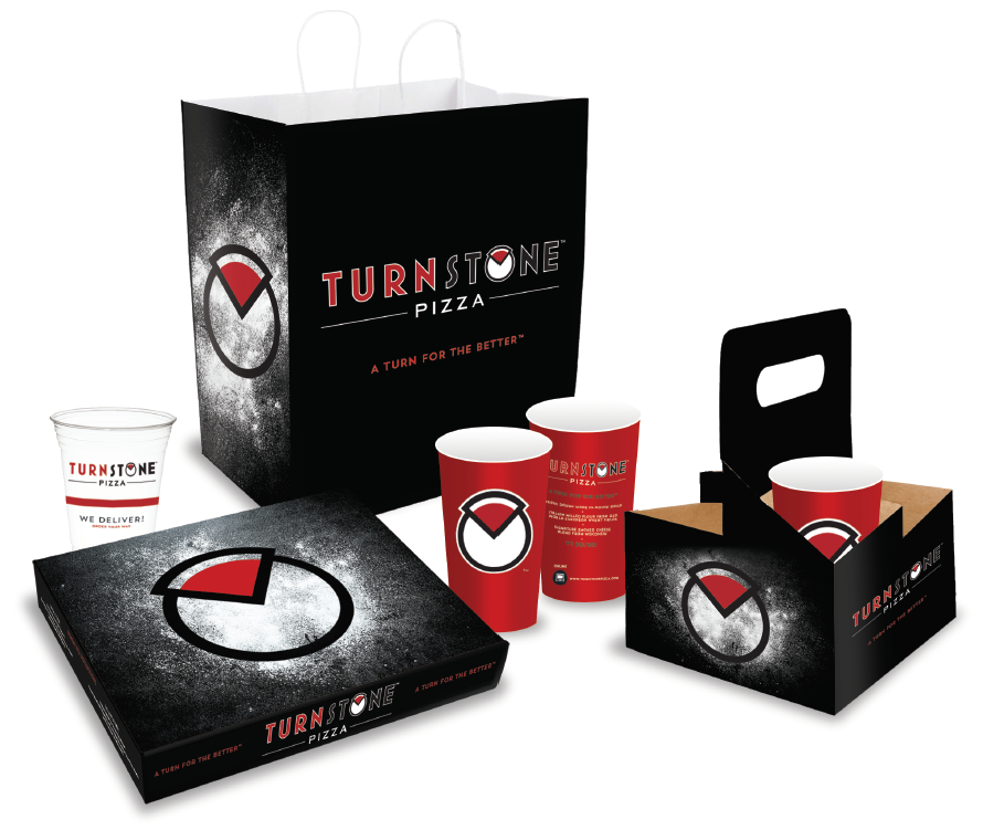 TURNSTONE PIZZA PACKAGING