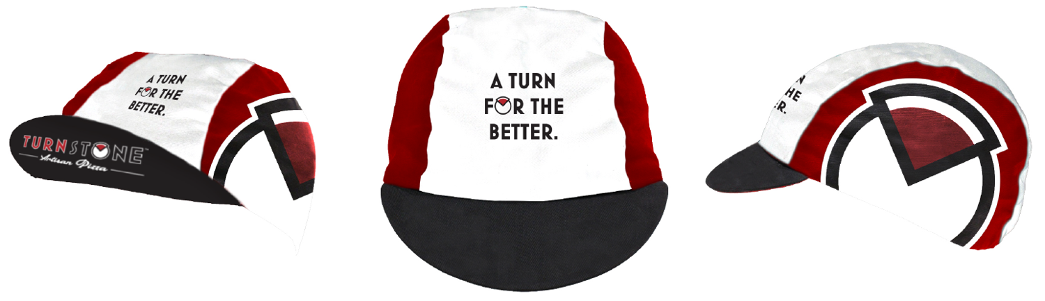 TURNSTONE PIZZA CREW CYCLING CAPS