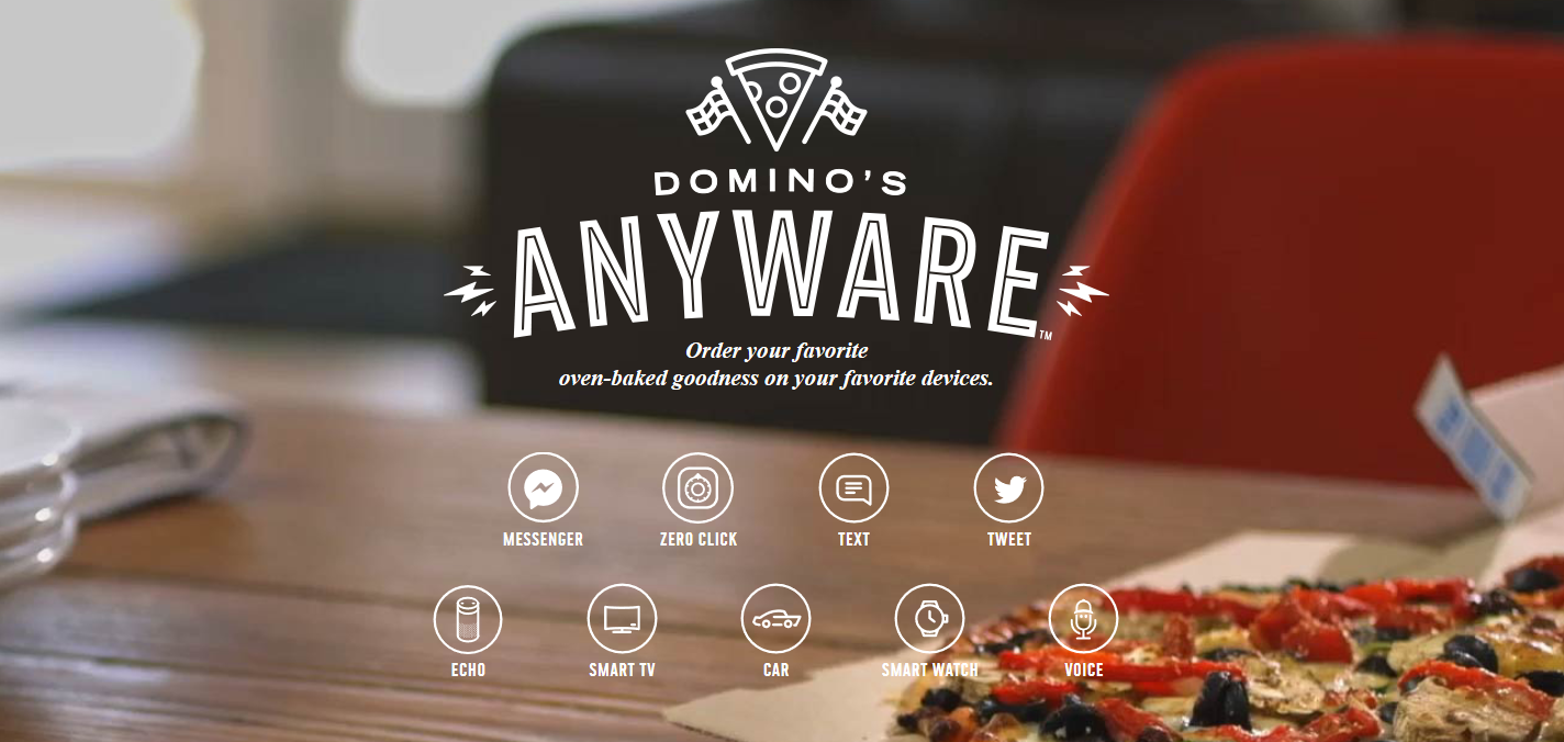 DISCONNECTING THE PHONE TO ACCELERATE SALES - Domino's relentless focus on any device ordering