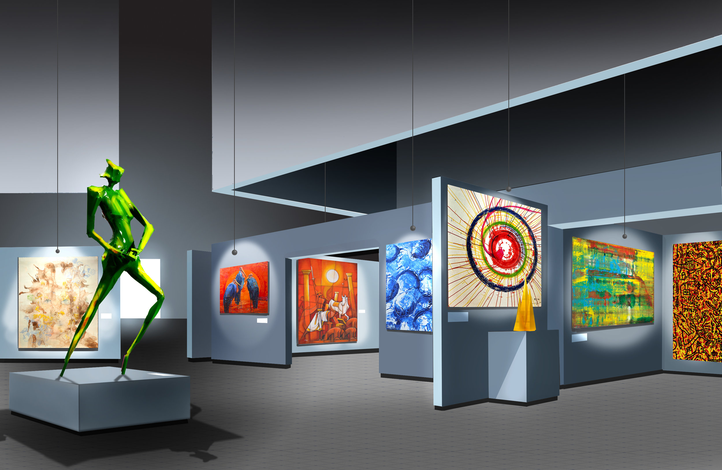 Retail Gallery Concept