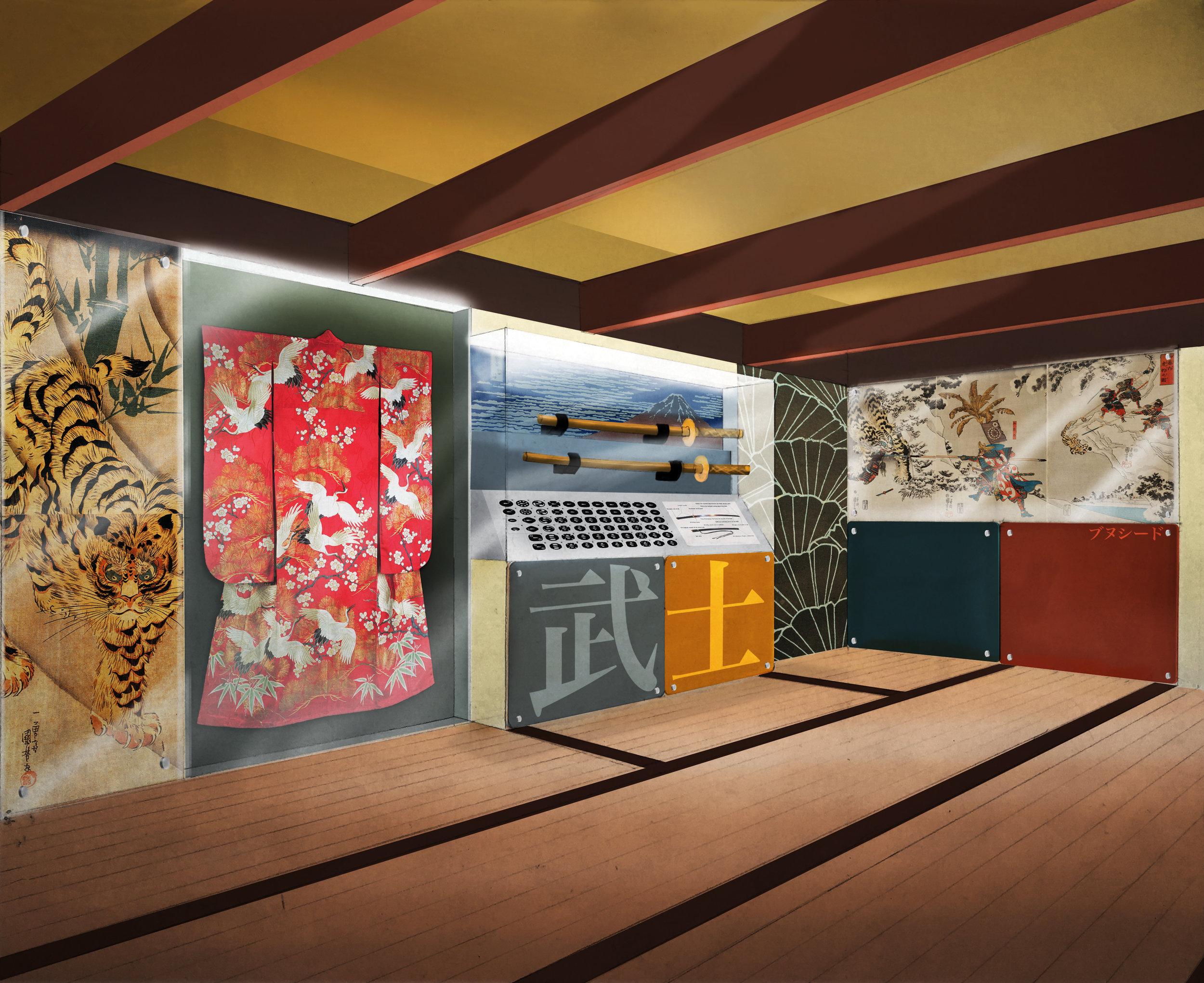 Japan Exhibit Concept