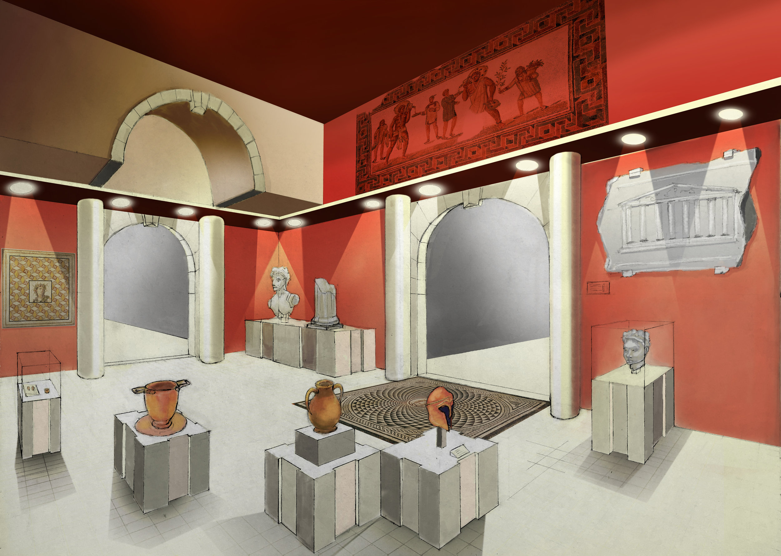 Roman/Greek Exhibit Concept