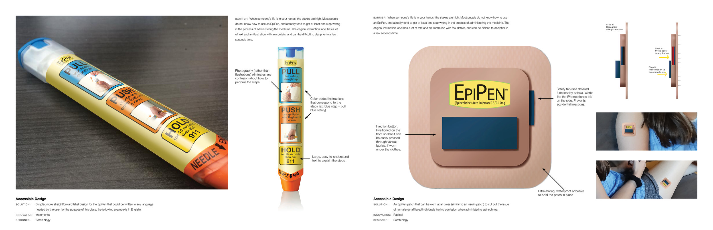 Copy of UX Design - EpiPen Redesigns