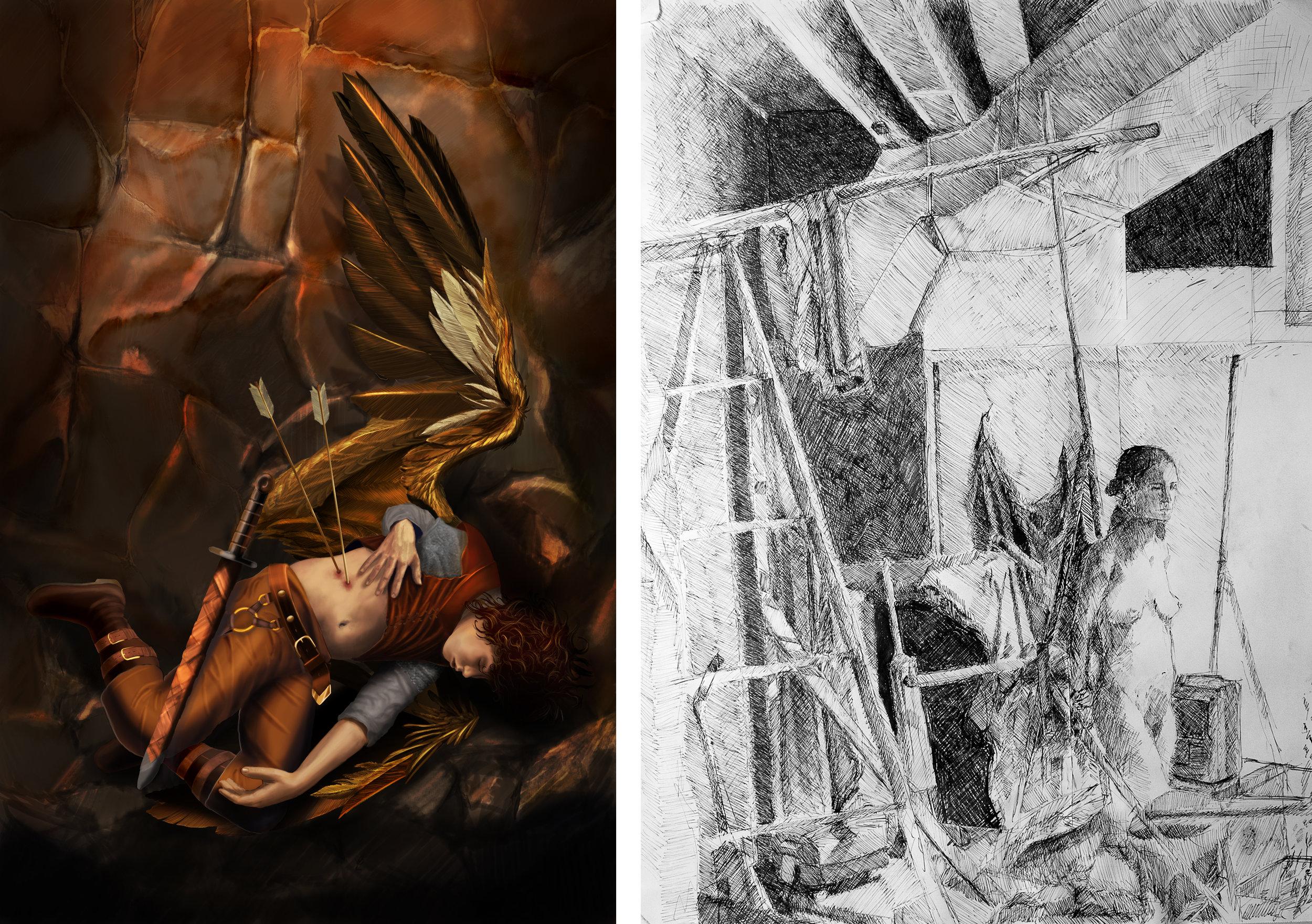 Fallen Angel | Figure Study