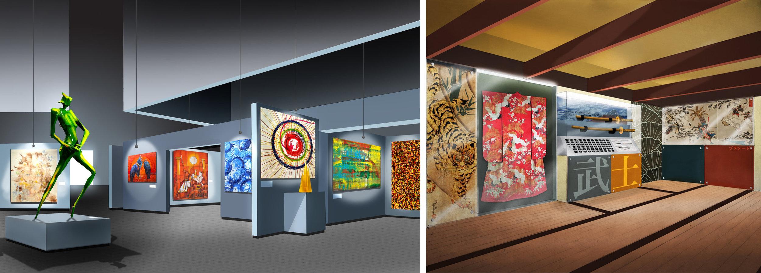 UX Design - Dayton Art Institute Gallery Shop and Japanese Exhibit Redesign Proposals