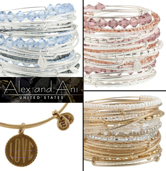 Alex and Ani Bridal Jewelry Collection