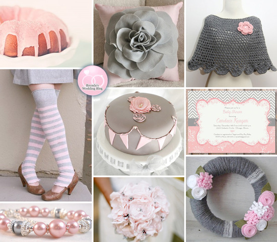 Pink and Grey Winter Wedding Inspiration Board | BrendasWeddingBlog.com