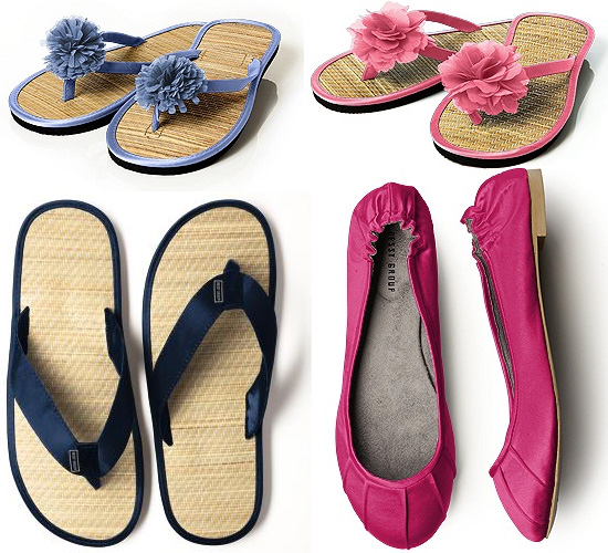 summer wedding shoes from The Dessy Group