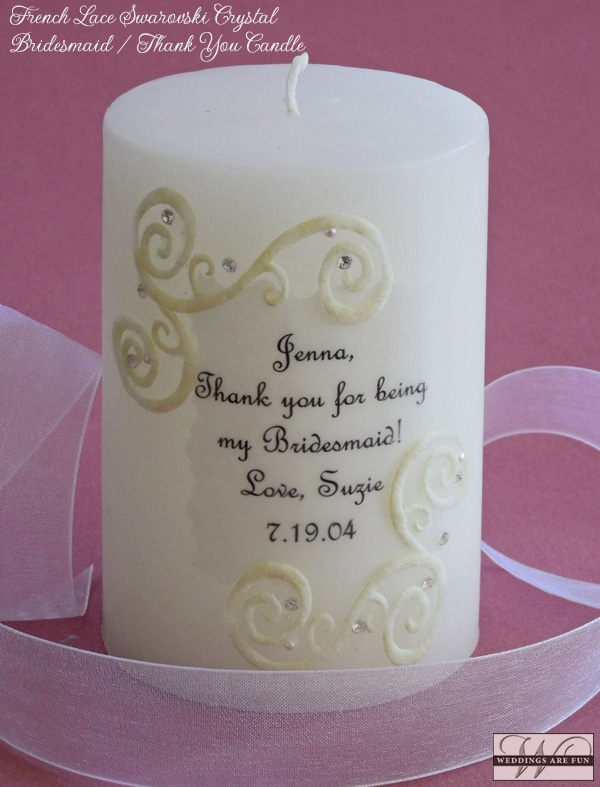 Personalize up to 5 lines. These make wonderful thank you gifts for your entire  wedding  party.
