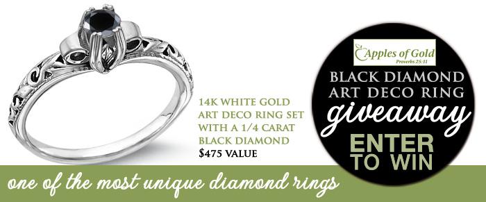 black diamond ring giveaway