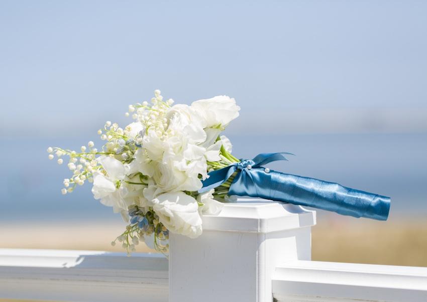cape cod wedding - bouquet