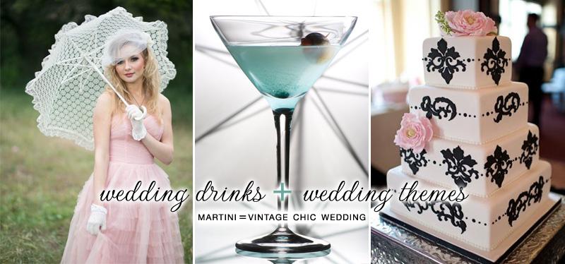 Vintage Dress , Martini , Vintage Shabby Chic Cake