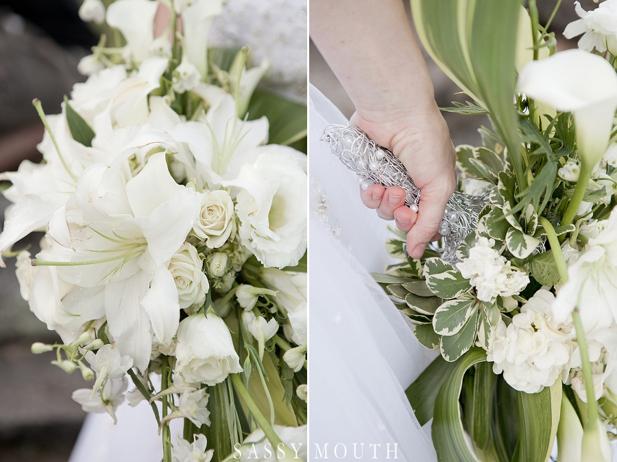 wire wrapped wedding bouquet | from #Cinderella inspired #wedding photo shoot | photo by @sassymouthphoto