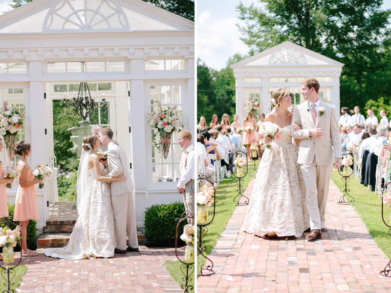 gorgeous location for a garden ceremony in Tennessee at Heartwood Hall | photo by  www.annabellacharles.com