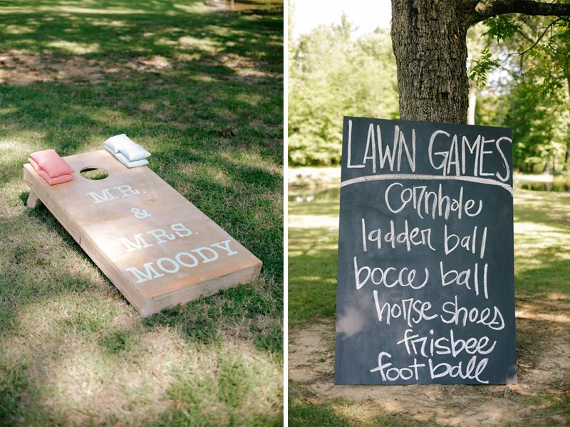 wedding lawn games| photo by www.annabellacharles.com