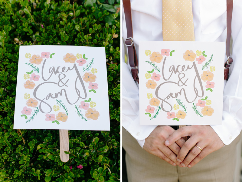handmade #wedding #fans from a Southern Wedding | photo by  www.annabellacharles.com