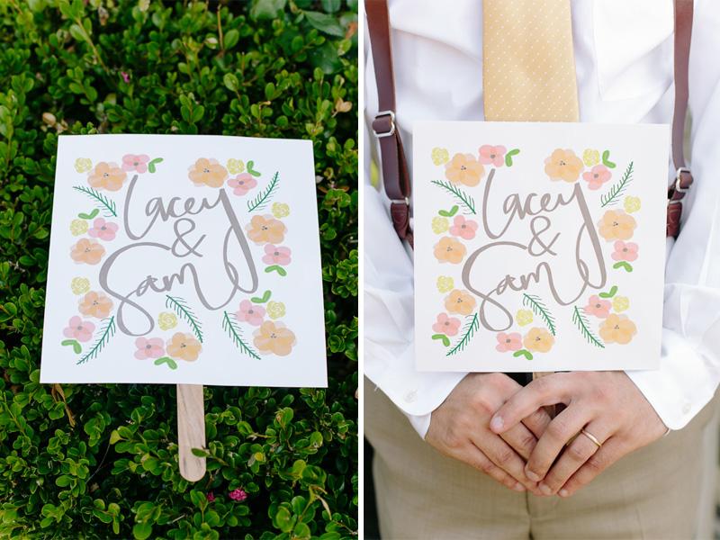 handmade #wedding #fans from a Southern Wedding| photo by www.annabellacharles.com