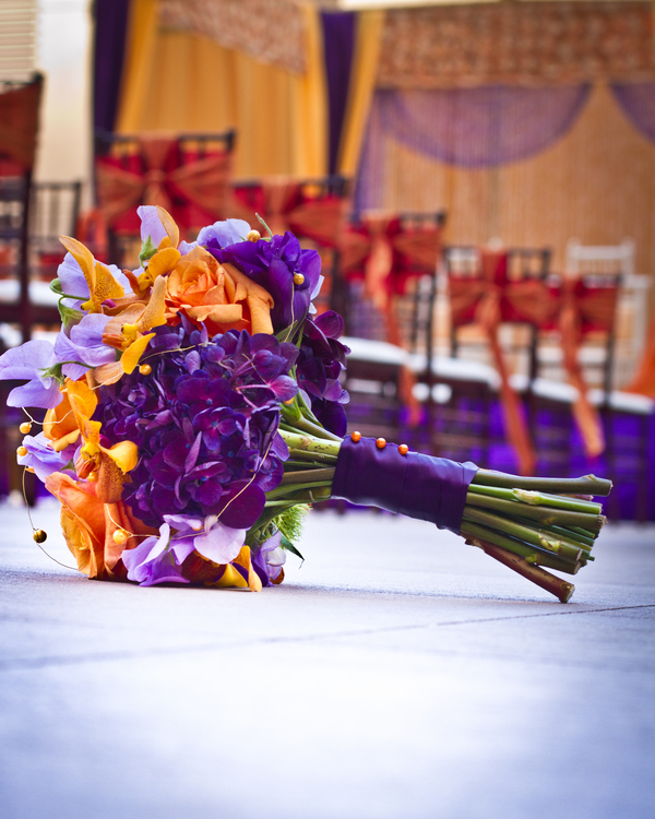Moroccan Themed Wedding Bouquet | photo by Dreamcicle Studios | Florals by Wendell Design Group Florist