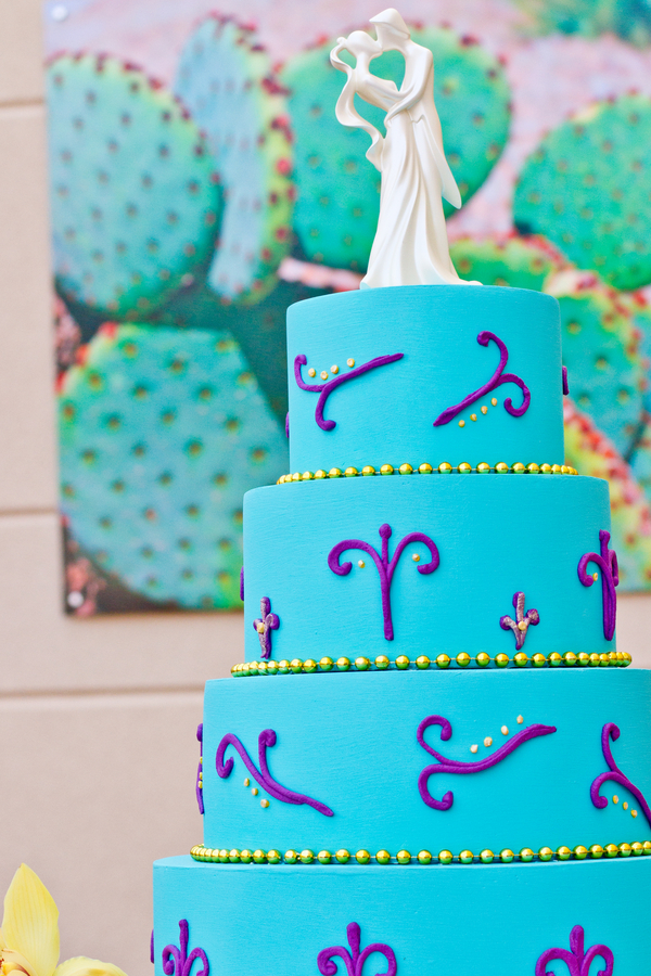 Moroccan themed wedding cake | photo by Dreamcicle Studios | cake by Sue Jacob Cakes