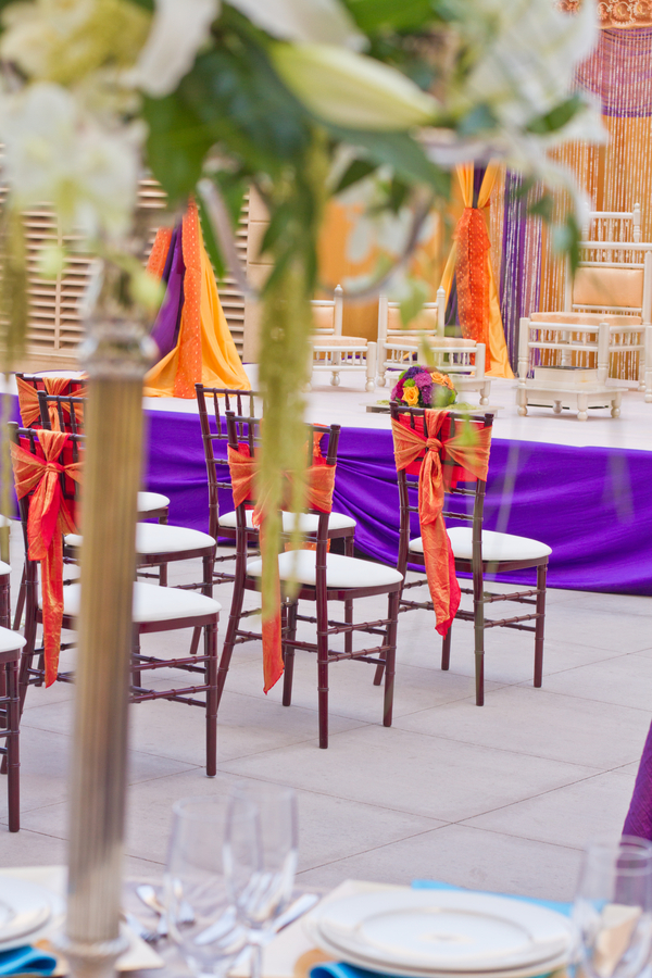Moroccan themed wedding ceremony | photo by Dreamcicle Studios #styledshoot