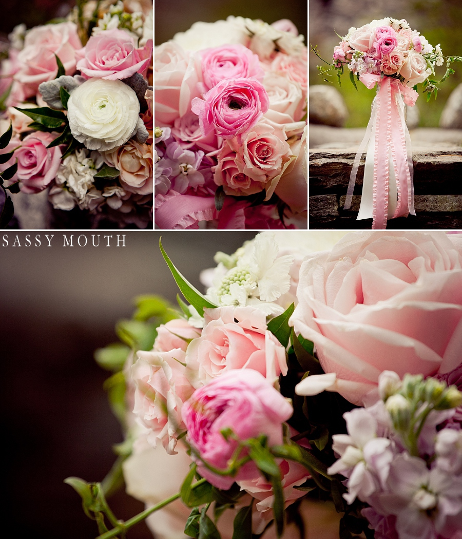 Sleeping Beauty Inspired Wedding Flower Close-Ups by Sassy Mouth Photography