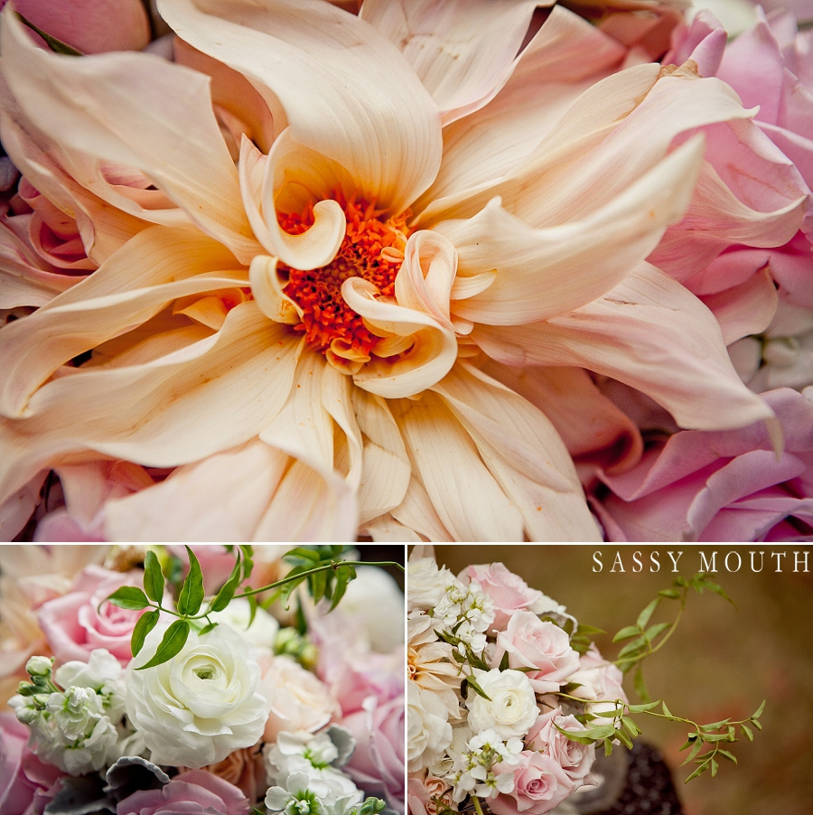 Sleeping Beauty Inspired Wedding Flower Details by Sassy Mouth Photography