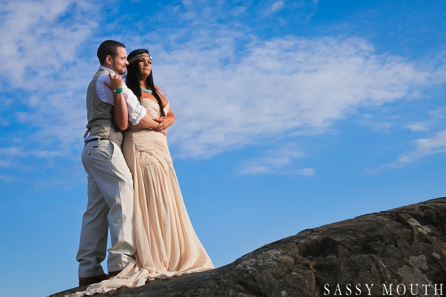 A Pocahontas Inspired Wedding - by Sassy Mouth Photography