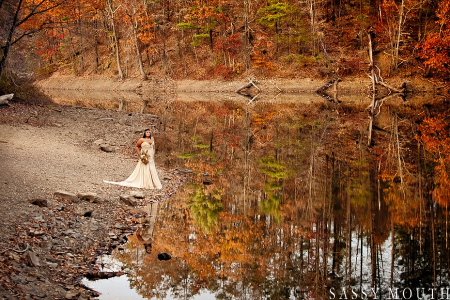 Spectacular fall foliage from a Pocahontas Inspired Wedding Photo Shoot - by Sassy Mouth Photography