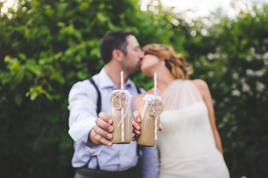 Bride and Groom Thank You | photo by Jessica Oh Photography