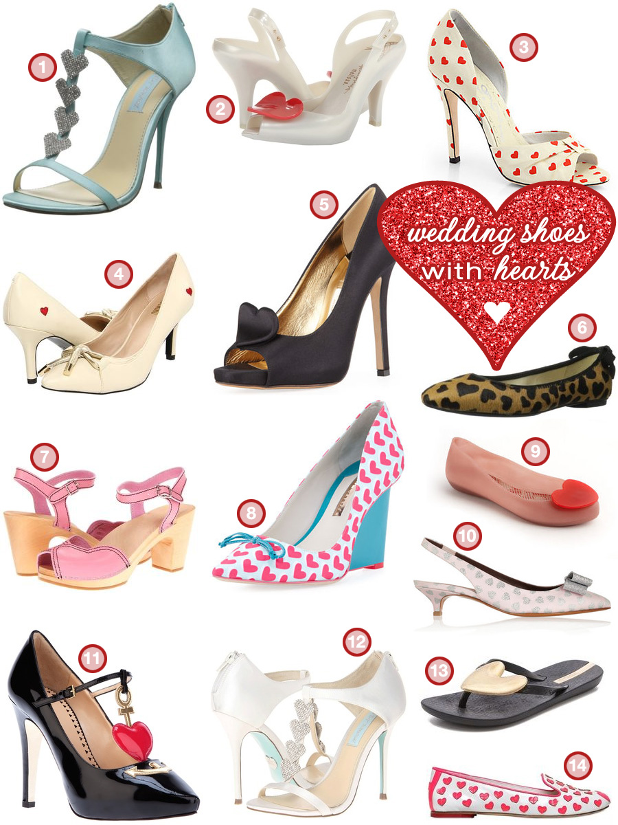 Wedding Shoes with Hearts #highheels #heartsonshoes #highheelswithhearts #weddingshoes #weddingshoeswithhearts